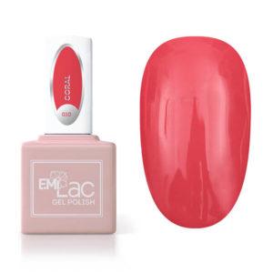 E.MiLac Coral #010, 9 ml.
