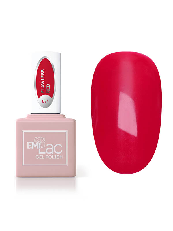 Emilac Dolce Vita- Flawless Red #074, 9ml