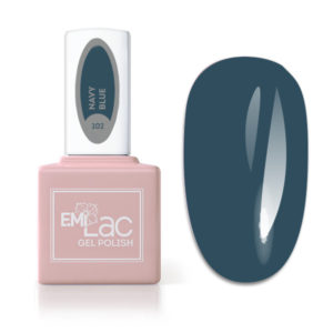 Emilac Season of Contrast- Navy Blue #102, 9ml