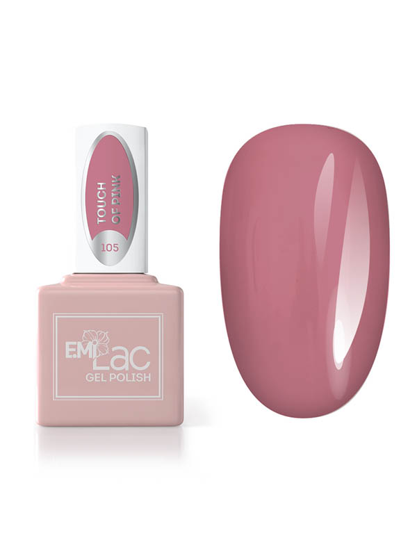 Emilac Season of Contrast- Touch of Pink #105, 9ml
