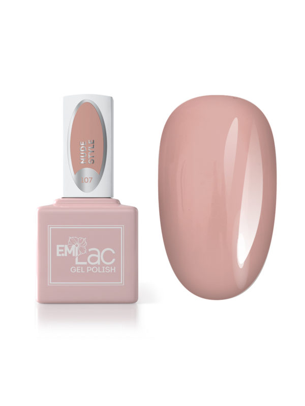 Emilac #107 Nude Style, 9ml