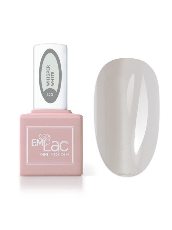 Emilac Total Grey- Whisper White #120 (greyish colour), 9ml