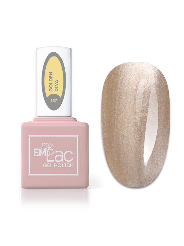 E.MiLac Fashion Queen Golden Diva #157, 9 ml.