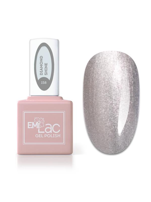 E.MiLac Fashion Queen Diamond Shine #158, 9 ml.