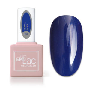 E.MiLac Fashion Queen Royal Blue #159, 9 ml.