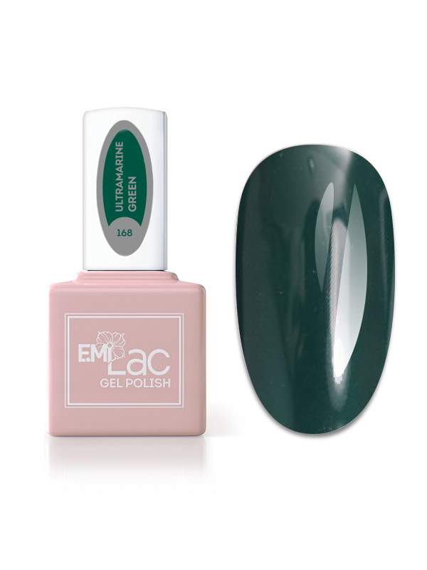E.MiLac Fashion Queen Ultramarine Green #168, 9 ml.