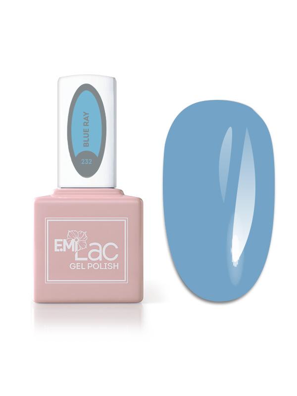 E.MiLac La Muse- Blue Ray #232, 9 ml.