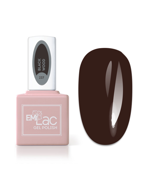 Boho Chic E.MiLac #237 Black Wood, 9 ml.