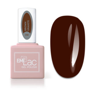 Emilac Glass- Brown Granite #258, 9ml