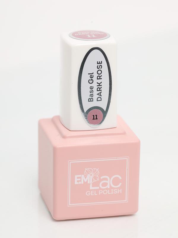 E.MiLac Base Gel Dark Rose #11, 9/15 ml.