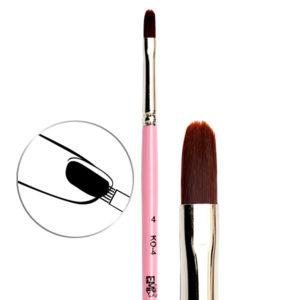 Oval Brush #4