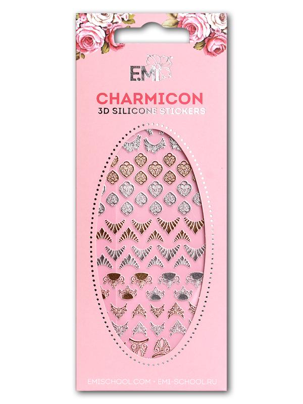 Charmicon 3D Silicone Stickers Lunula Mix #6