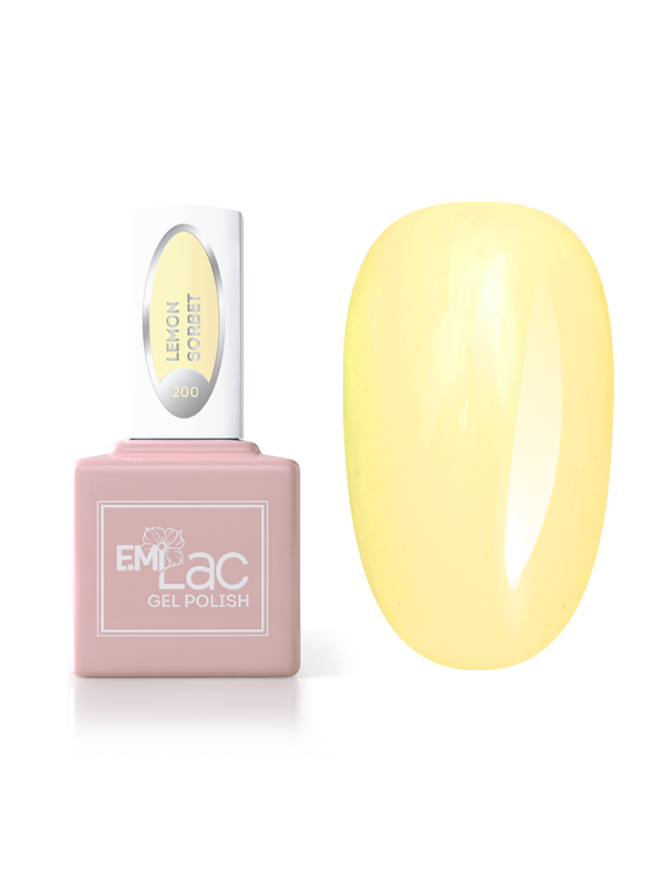 Emilac Pastel Rings- Lemon Sorbet #200, 9ml