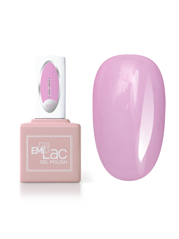 E.MiLac Pastel Rings- Orchid #195, 9 ml.
