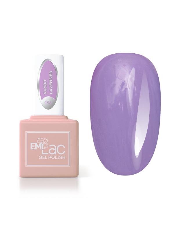 E.MiLac Pastel Rings- Sweet Lavender #196, 9 ml.