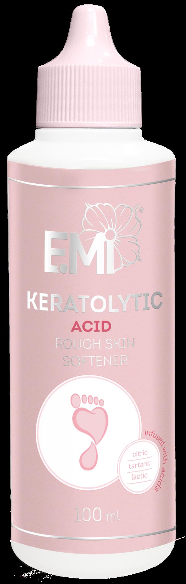 Acid-Based Keratolytic Softener for Rough Skin, 100ml