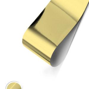 Glossy Foil- White Gold