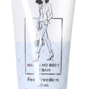 Hand and Body Cream- Feel Freedom, 30 ml