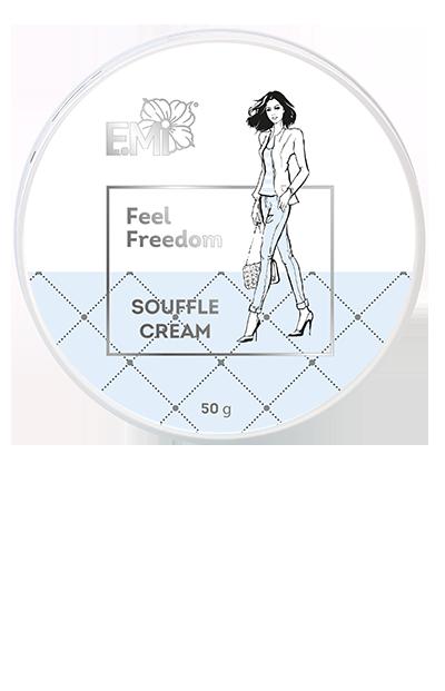 Hand and Body Cream Souffle- Feel Freedom, 50/200 ml.