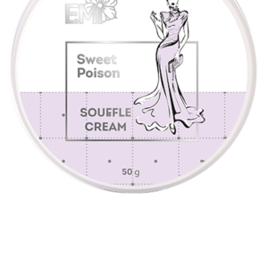 Hand and Body Cream Souffle- Sweet Poison, 50/200 ml.