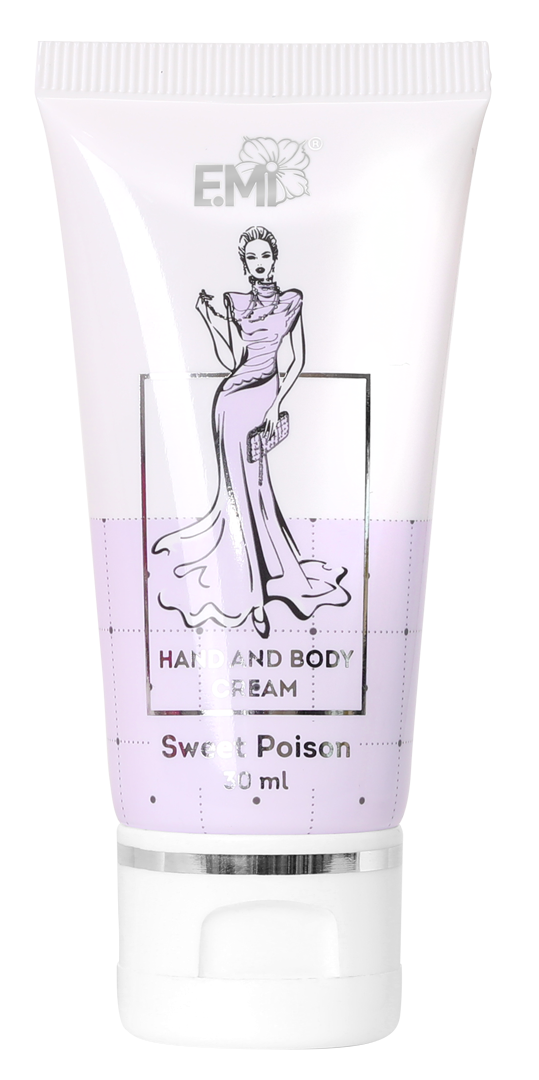 Hand and Body Cream- Sweet Poison, 30 ml