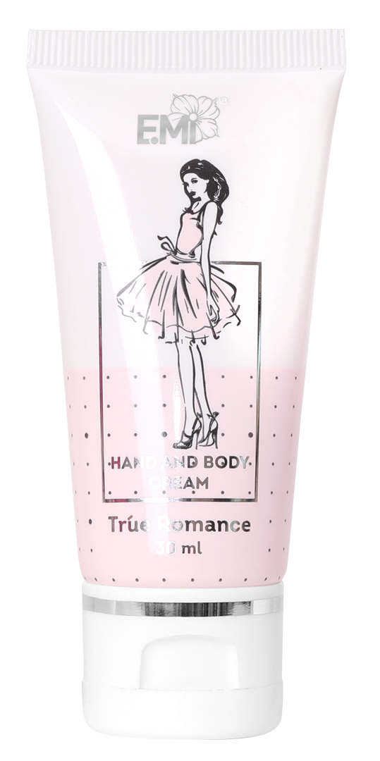 Hand and Body Cream- True Romance, 30 ml