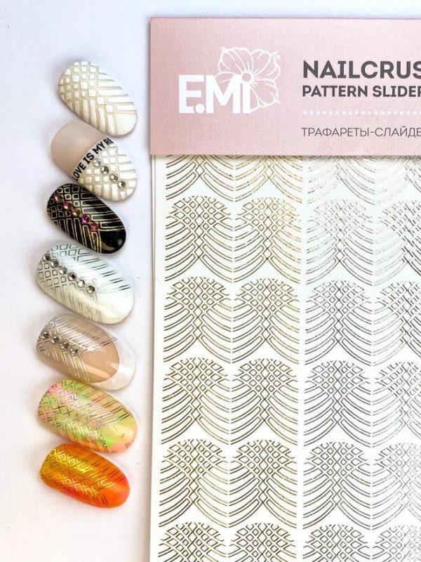 Nailcrust Pattern Slider Plaiting #27