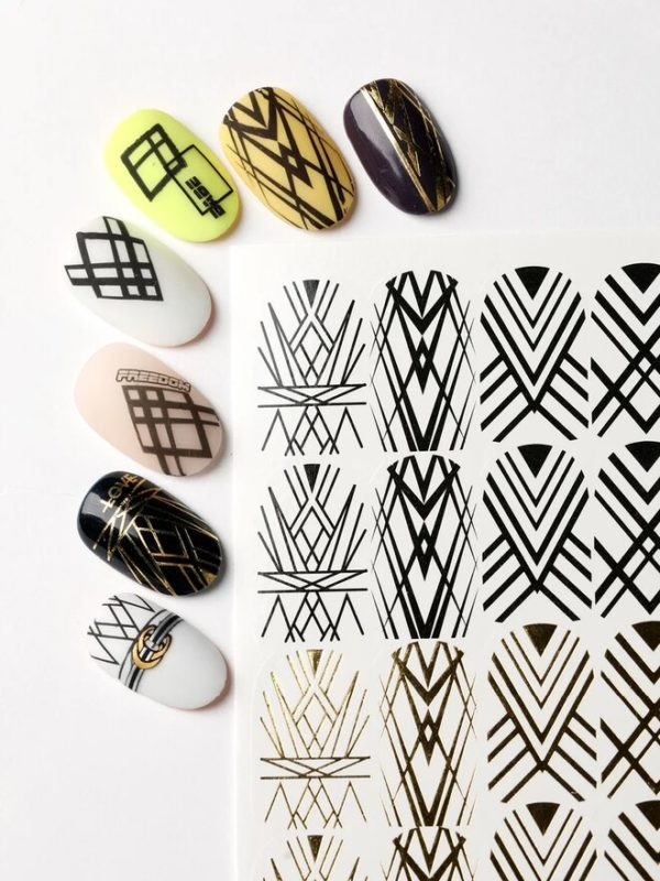 Nailcrust Pattern Slider #43 Geometry