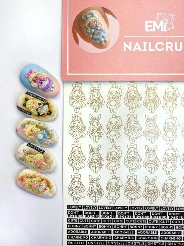 Nailcrust Pattern Slider Black #45 Dolls
