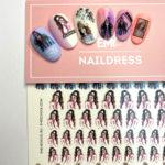 Naildress Slider Design #24 Fashion Lady