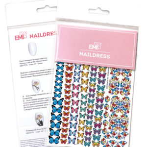 Naildress Slider Design #6 Butterflies