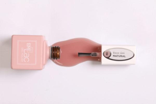 E.MiLac Base Gel Natural #04, 9 ml.