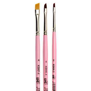 Brush Set for One-Stroke Painting