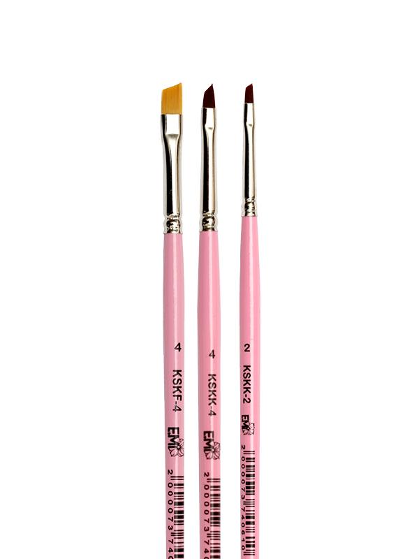 Brush Set for One-Stroke Painting
