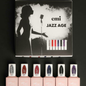 Emilac Jazz Age Collection, 9ml bottles