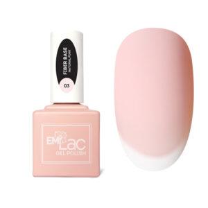 Fiber Base Gel #03 Natural Pink, 15ml