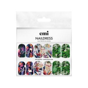 Naildress Slider Design #64 Tropical Leaves