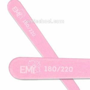 Pink Mini Wood Nail File 180/220