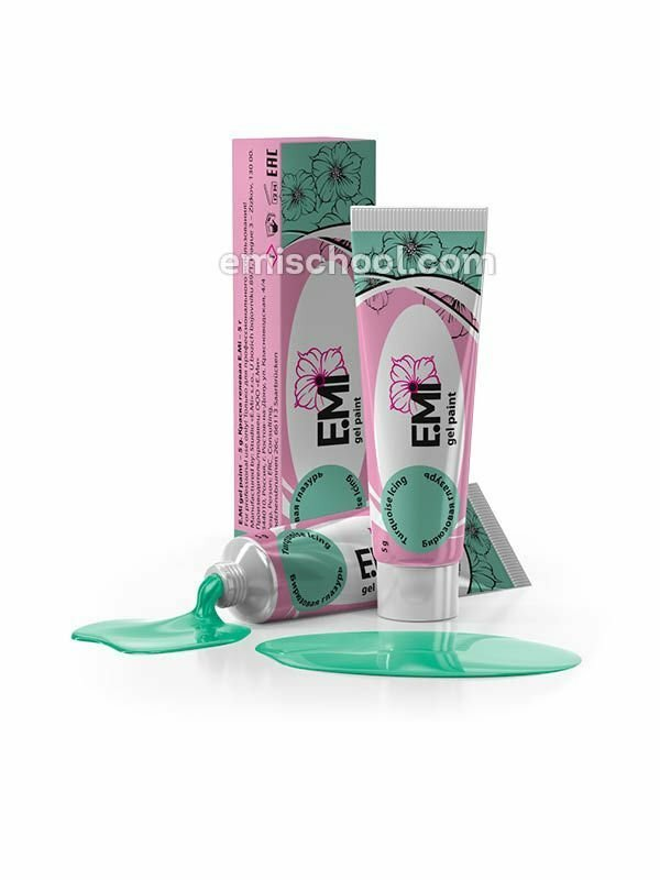 Pastel Rings Gel Paint- Turquoise Icing, 5ml