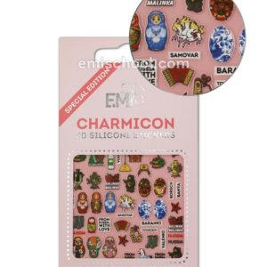 Charmicon 3D Stickers Russia 1