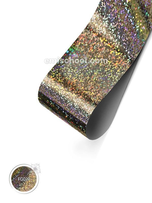 Holographic Foil- Small Crystals, 1.5 meters