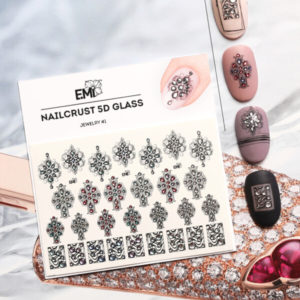 5D Glass Nailcrust Jewelry #1