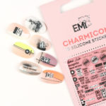 Charmicon 3D Silicone Stickers #144 Be Nice