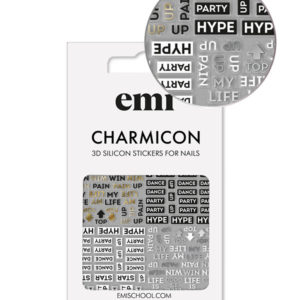 Charmicon 3D Silicone Stickers #180 Hype