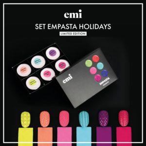 Holidays Empasta Set, 5ml x6 Jars