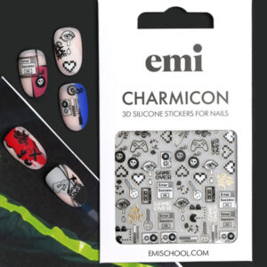 Charmicon-3D-Silicone-Stickers-188-Game-Over