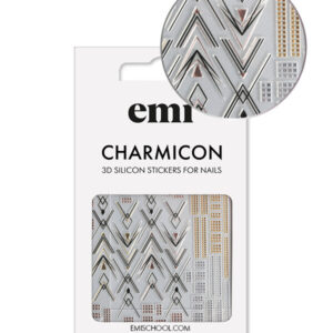 Charmicon 3D Silicone Stickers #194 Graceful Geometry