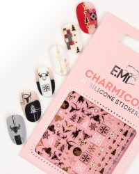 Charmicon 3D Silicone Stickers #148 Christmas Decoration